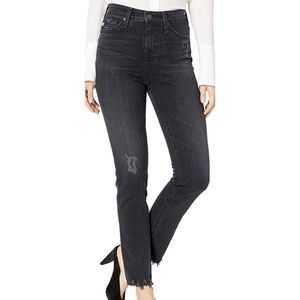 AG Jeans sophia high waisted skinny ankle 7435